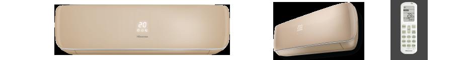 Инверторные сплит-системы серии Premium CHAMPAGNE SUPER DC Inverter